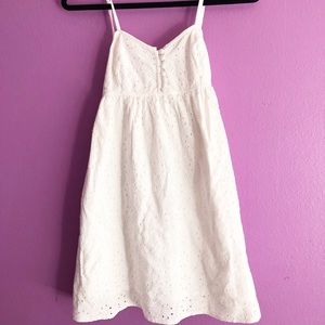American Rag white lace dress